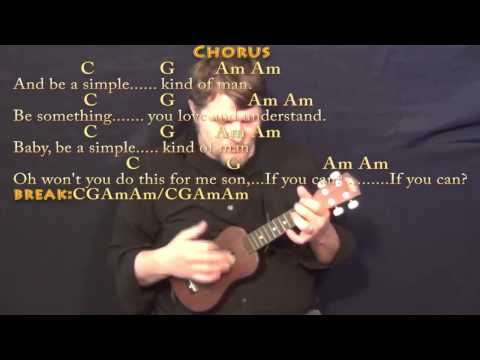 Simple Man (Lynyrd Skynyrd) Ukulele Cover Lesson with Chords/Lyrics