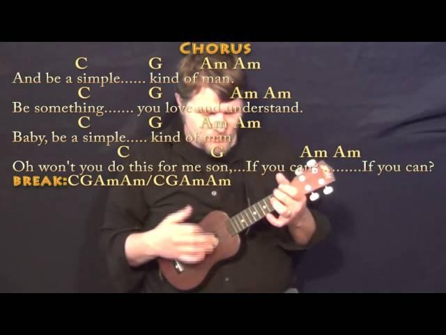 Simple Man (Lynyrd Skynyrd) Ukulele Cover Lesson with Chords/Lyrics ...