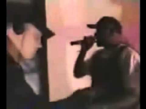 Rare Eminem freestyle rap battle from 1997