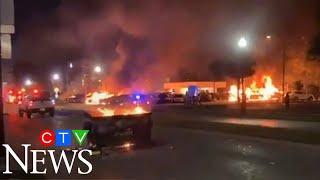 Unrest in Kenosha, Wisconsin after Jacob Blake shooting