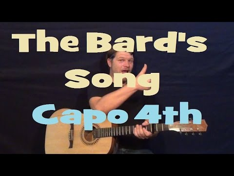How to write a bard song blind