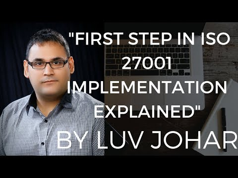 ISO 27001 Training How To Start ISO 27001 Implementation From The Scratch?