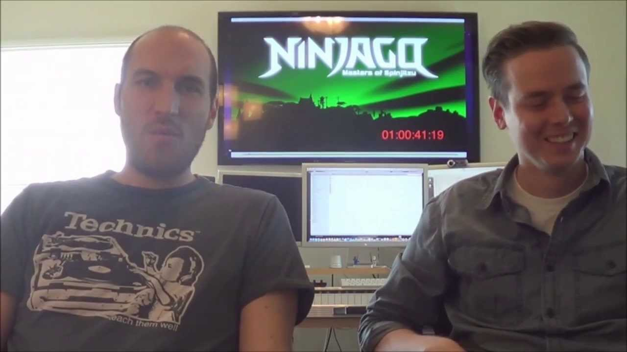 Jay Vincent and Mike Kramer Ninjago posers Interview Part 1