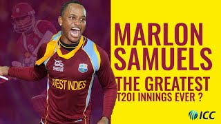 Greatest T20I innings ever? | Marlon Samuels in the T20 World Cup 2012 final