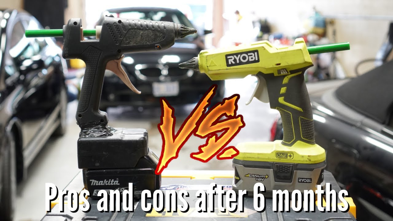 Cordless Glue Gun Battle | Paintless dent repair tools | Dentless Touch