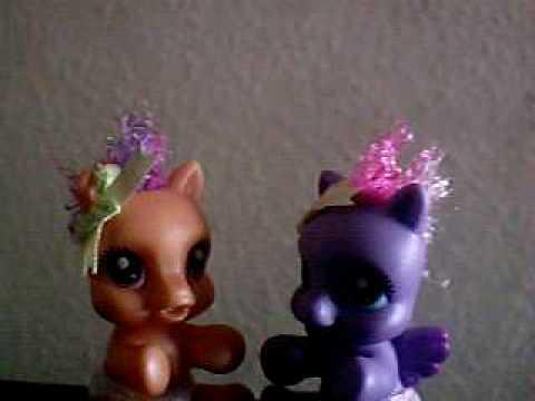 My Little Pony Cutie newborn Karaoke Rockstar (Nickelback)