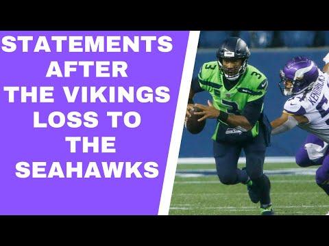 Minnesota Vikings lose to Seattle Seahawks: 'Kirk Cousins isn't good enough'
