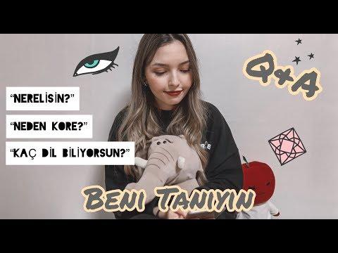 Beni Tanıyın! Neden Kore? Kore'de Yaşam ve Üniversite nasıl? || Q&A || Asya Vivian