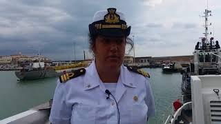 Intervista al tenente di vascello Marta Pratellesi