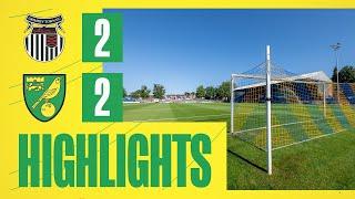HIGHLIGHTS   Grimbsy Town 2-2 Norwich City U18s