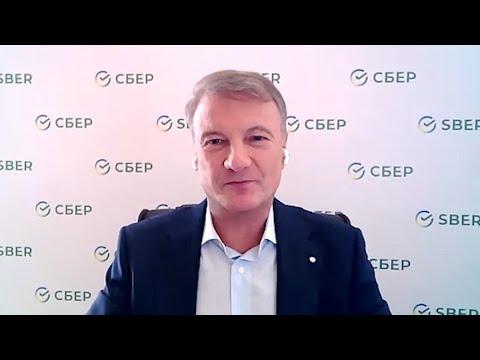 Sberbank CEO on Russia Economy, Covid-19 Impact