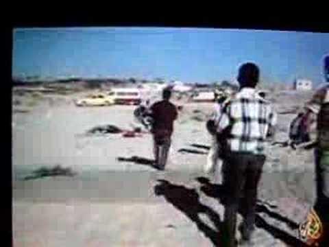 Israeli Attack on Palestinian Family on Gaza Beach