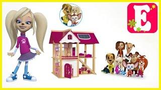 ИГРУШЕЧНЫЙ ДОМ БАРБОСКИНЫХ !!! Видео обзор домика Review toy house Play with toys Ева ТВ