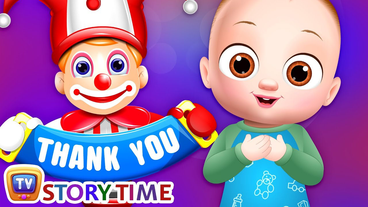 Thank You, A Magical Word! - ChuChu TV Storytime Good Habits Bedtime Stories for Kids