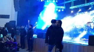 Скандальный концерт группы Сплин в Алматы. Часть 1