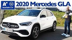 2020 Mercedes-Benz GLA 250 4MATIC (H247) Kaufberatung, Test deutsch, Review, Fahrbericht Ausfahrt.tv