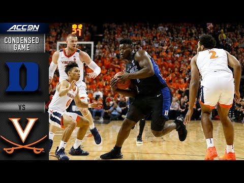 Duke vs. Virginia Condensed Game | 2018-19 ACC Basketball
