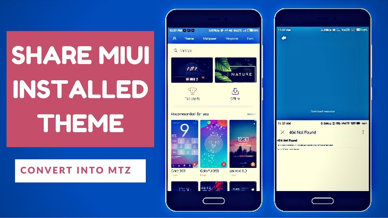 How To Share MIUI Themes   MiUi MTZ File - - vimore org