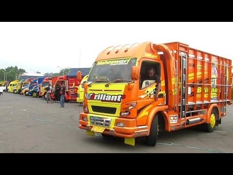 Keren, Kontes Akbar Modifikasi Truk Indonesia (Truck Fuso Canter, Colt Diesel, Hino dll) KAMT