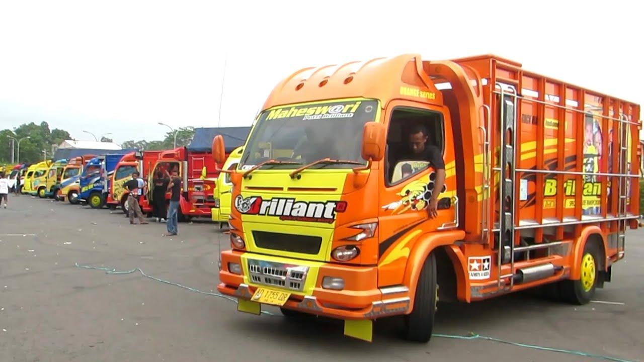 Keren Kontes Akbar Modifikasi Truk Indonesia Truck Fuso