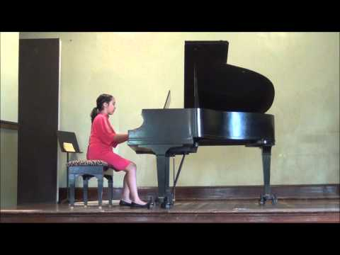 Neapolitan Dance Song by P. Tchaikovsky - Aasia's Spring Piano Recital 2014