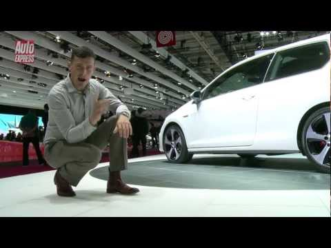 New Volkswagen Golf GTI at the 2012 Paris Motor Show - Auto Express