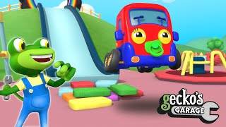 Baby Truck's Soft Play Day|Gecko's Garage|Funny Cartoon For Kids|Learning Videos For Toddlers