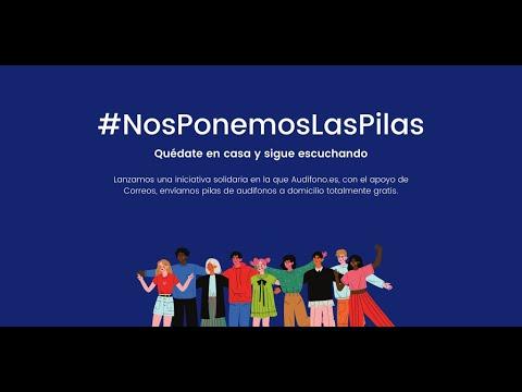 Iniciativa Solidaria - Quédate en casa y sigue escuchando - #NosPonemosLasPilas