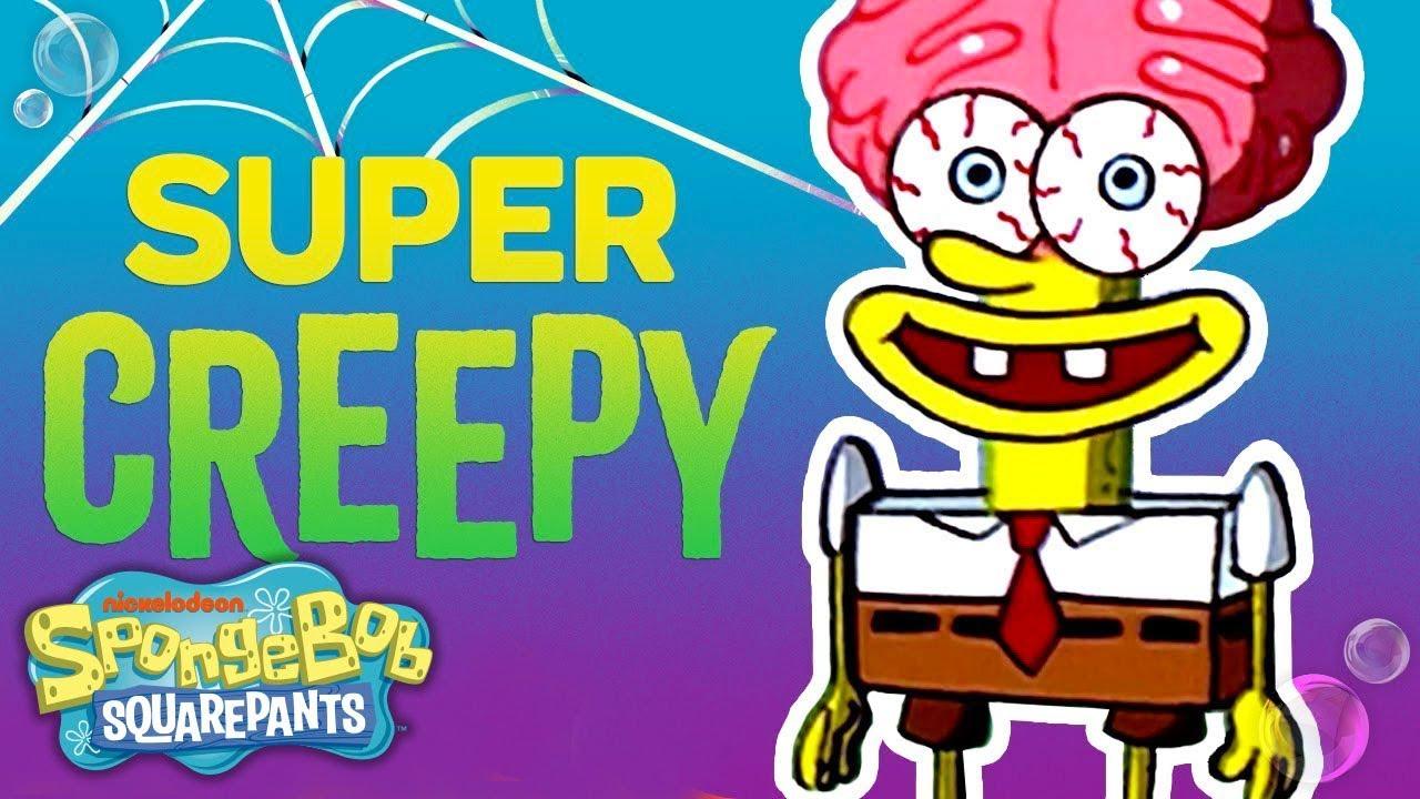 spongebob's most creeptacular moments ever! 👻 | nick - youtube
