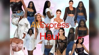 ALIEXPRESS TRY ON HAUL - Glamaker & Cryptographic