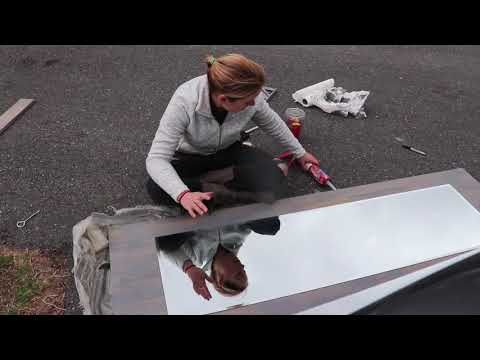 DIY With Jess: Bathroom Barn Door