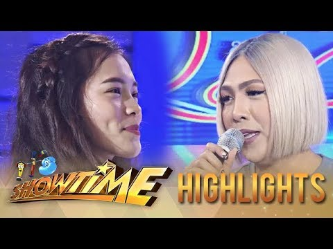 """It's Showtime Miss Q & A: Vice reunites with """"Ate Girl"""""""