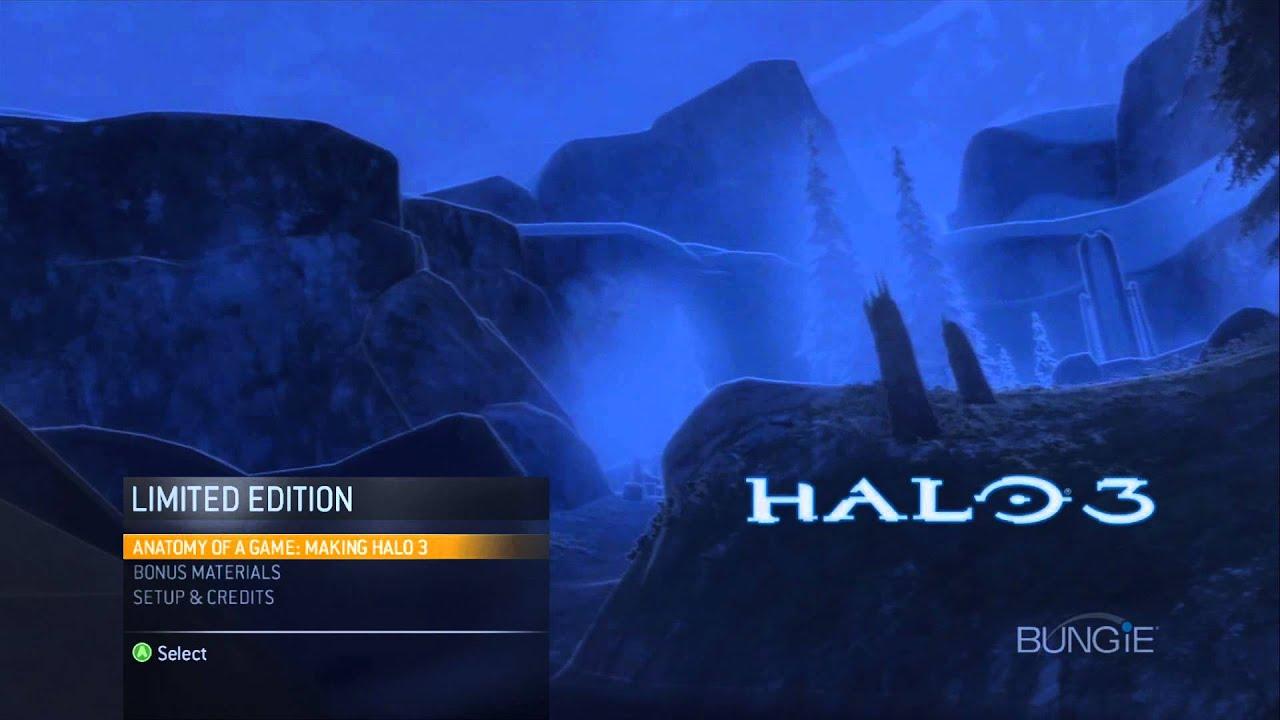 Halo 3 Essentials Menu Full HD
