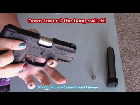 Taurus PT111 G2 - How To Break-Down