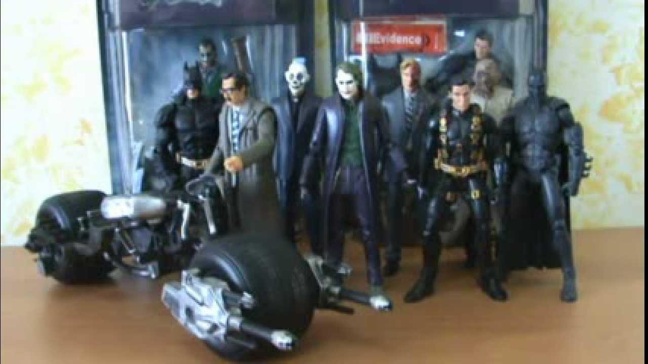 Batman The Dark Knight Movie Masters Bat-Pod Mattel