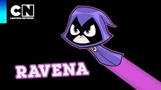 Ravena | Os Jovens Titãs em Ação | Cartoon Network