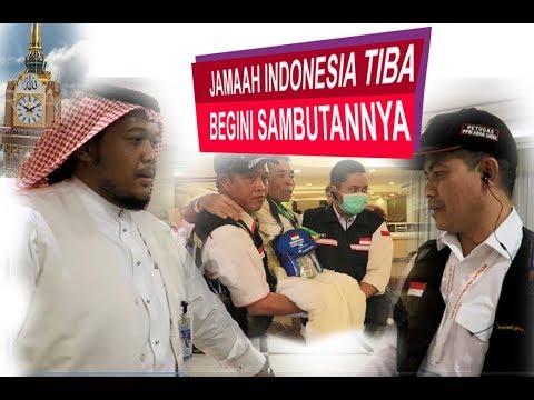DI MEKKAH SEPERTI INI SAMBUTAN KERAJAAN SAUDI & RI KEPADA JEMA'AH HAJI INDONESIA