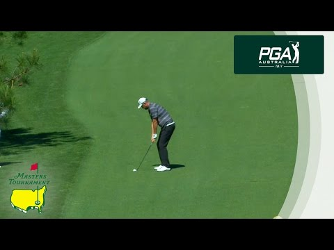 Amazing Eagle from Marc Leishman at the Masters Tournament