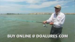 DOA Shrimp Technique - Trout Fishing Tips and Red Fishing Lures