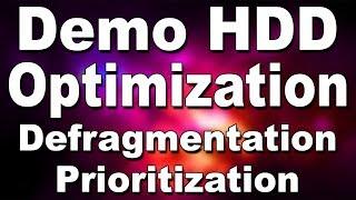 Computer Hard Disk (HDD) Optimization   DeFragmentation + Files Prioritization (Hindi)