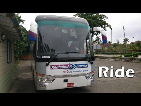 Knutsford Express King Long Coach Kingston to Ocho Rios (via North-South Highway) Ride