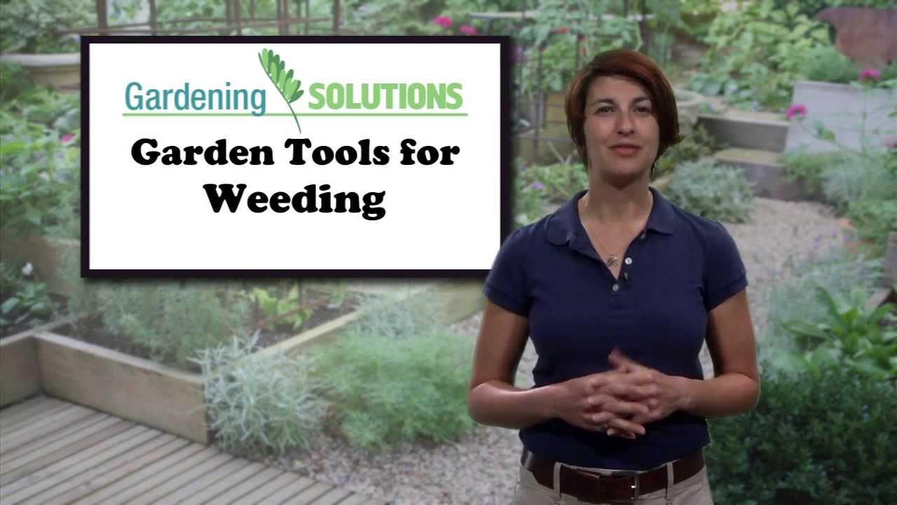 Gardening solutions garden tools for weeding youtube for Gardening tools for weeding