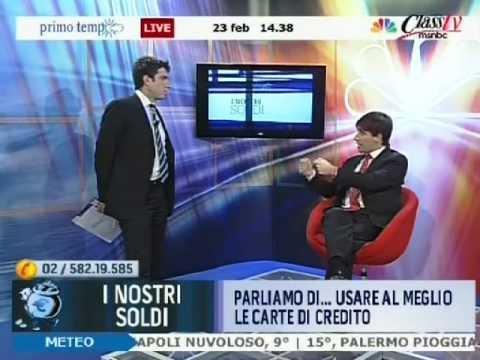 Scegliere la Carta di Credito risparmiando: Andrea Manfredi a Class TV CNBC - SuperMoney de YouTube · Duración:  12 minutos 31 segundos
