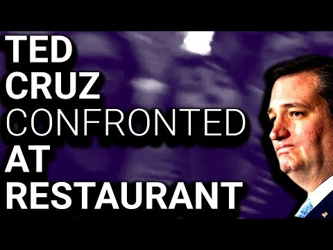 : Ted Cruz Chased Out of Fancy Restaurant  Protesters