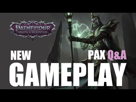 Pathfinder Wrath of the Righteous NEW GAMEPLAY and Q&A