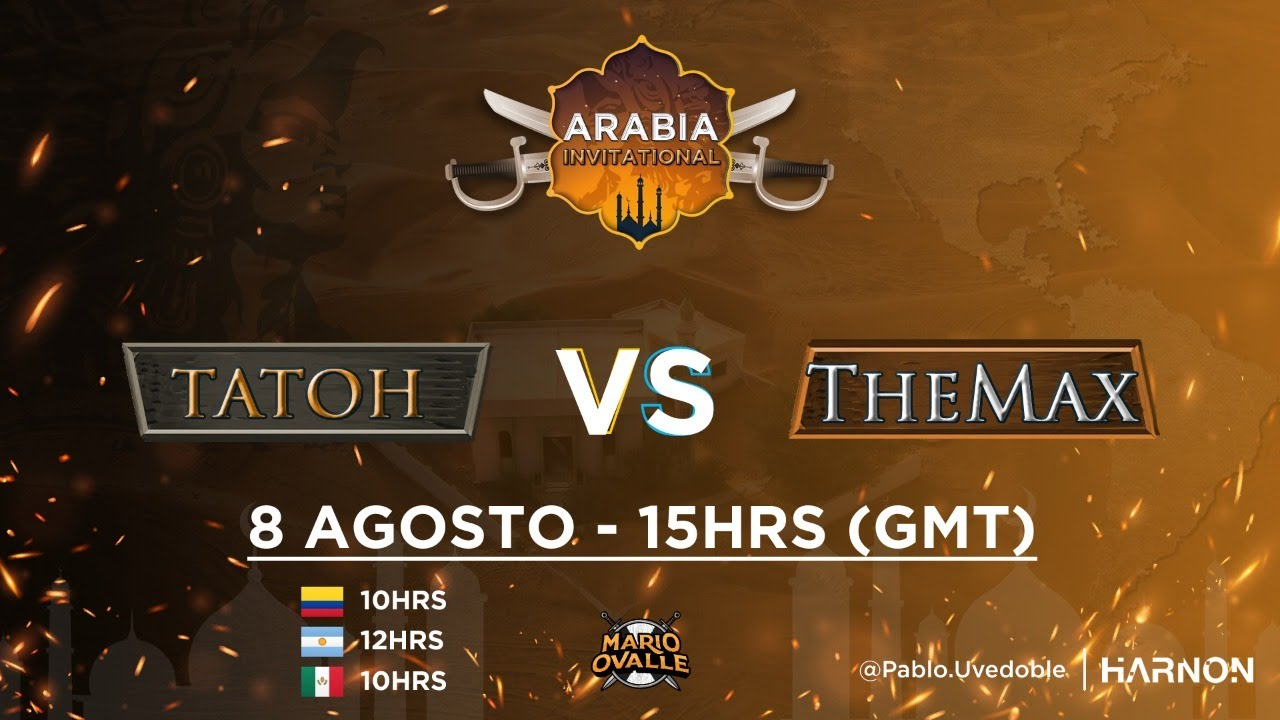 TATOH VS THE MAX - HERA VS DAUT 2 DIA LATIN AMERICA ARABIA INVITATIONAL