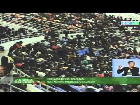 Zambian president funeral