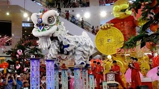 cny 2016 acrobatic lion dance 舞獅 ma ln by kun seng keng pavilion kl 16 1 2016 4k uhd