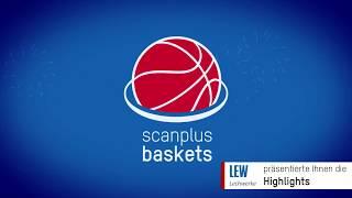 Highlights sp Baskets Elchingen vs Fraport Skyliners Juniors 14.01.18 | scanplus Baskets