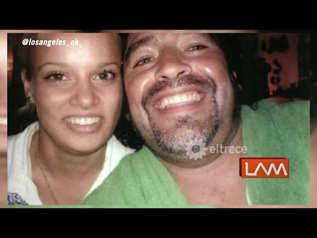 Apareció Adonays Frutos, la novia cubana de Diego Maradona